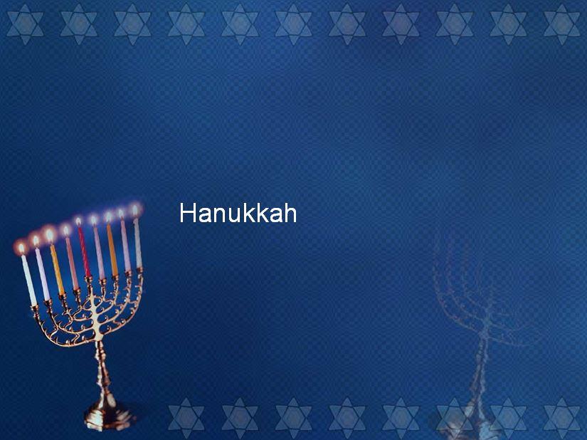 Lesson of the Week: Hanukkah