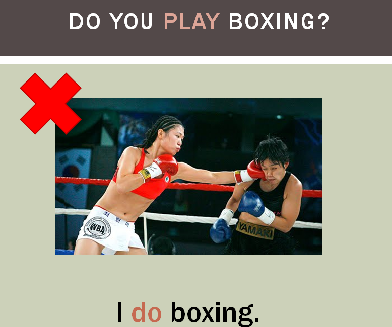 Lesson of the Week: Do You Play Boxing?