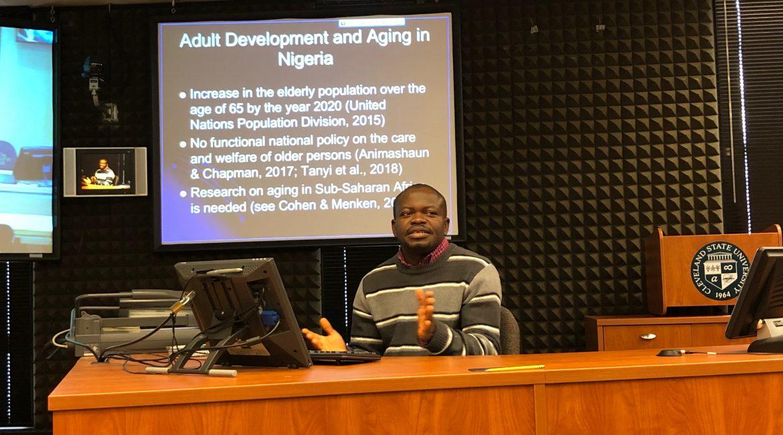 Researcher Spotlight: JohnBosco Chika Chukwuorji, U.S.